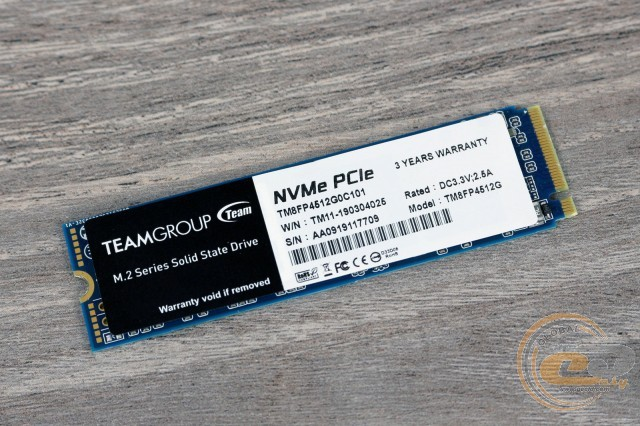 TEAMGROUP MP34 M.2 PCIe SSD