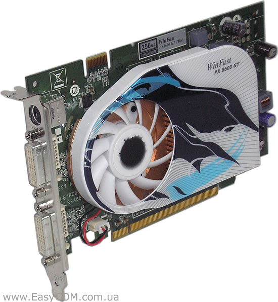 WINFAST PX8600GT DRIVERS FOR PC