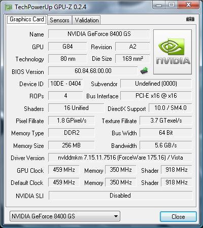 Nvidia Geforce 8400m Gs скачать драйвер Windows 7 64 - фото 11