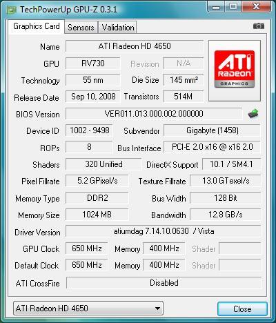Gigabyte GV-R465OC-1GI VGA Driver