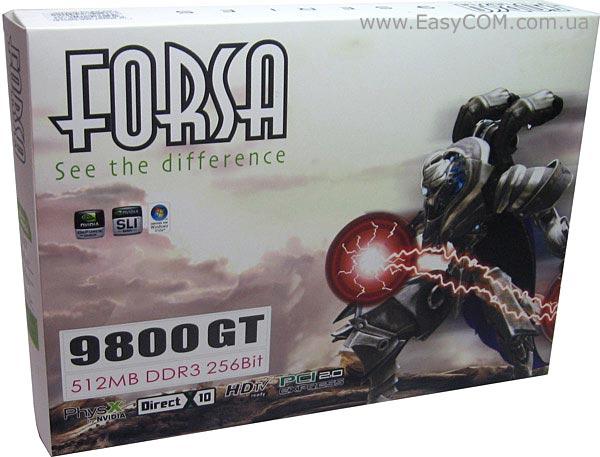 Видеоадаптер Nvidia Geforce 9800 Gt (1024 Мб)