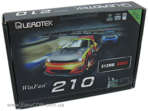 Leadtek WinFast GeForce 210 512 LP (LR2712)