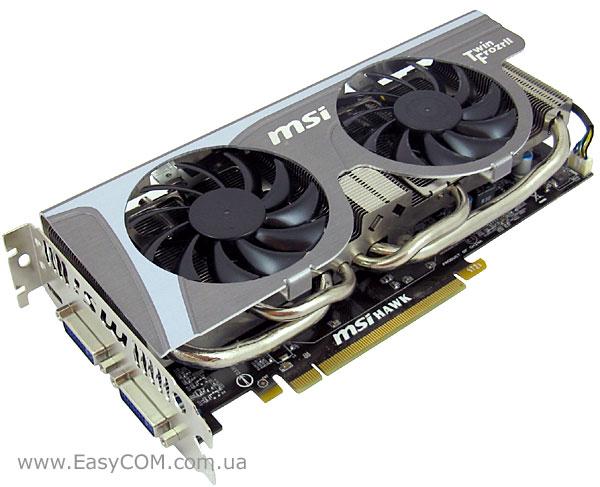 Обзор видеокарты MSI GeForce GTX 460 1GB Hawk, Страница 1  GECID com