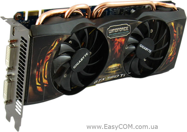 GIGABYTE GeForce GTX 560 Ti Super Overclock (GV-N560SO-1GI)