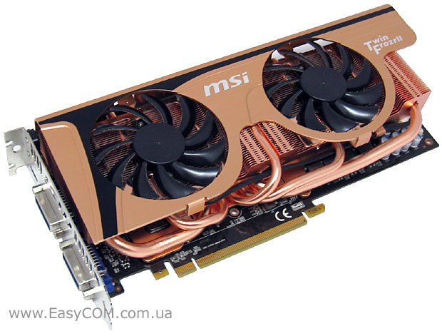 MSI GeForce GTX 465 Golden Edition (N465GTX Twin Frozr II Golden Edition)