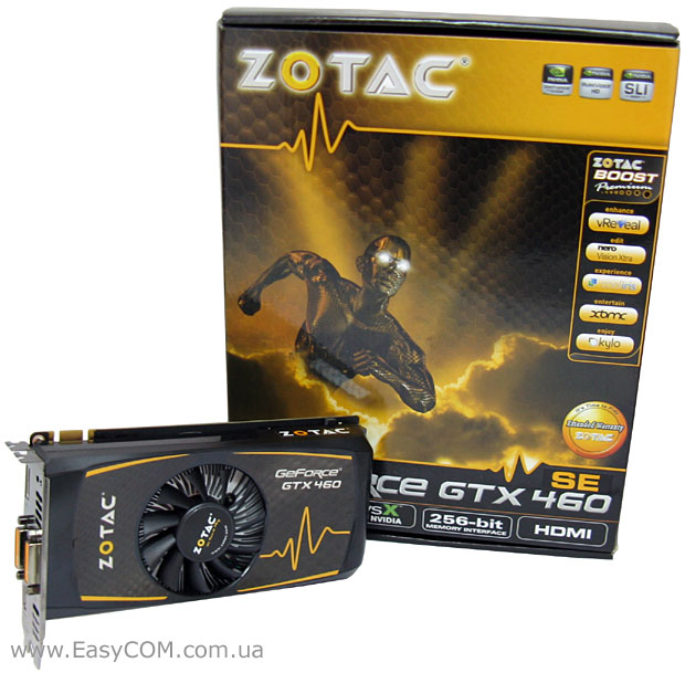 ZOTAC GeForce GTX 460 SE (ZT-40409-10P)
