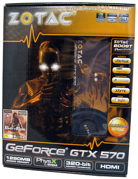 ZOTAC GeForce GTX 570 (ZT-50201-10P)