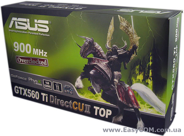 ASUS GeForce GTX 560 Ti DirectCU II TOP