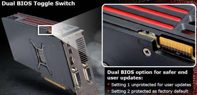 Dual BIOS Toggle Switch