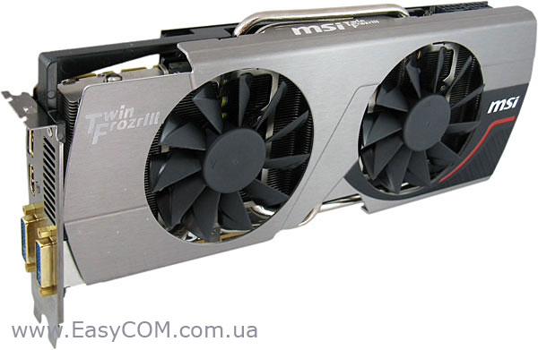 MSI GeForce GTX 580 Ligtning