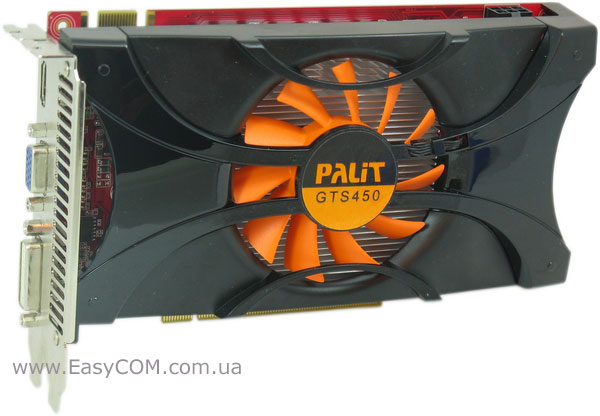 Palit GeForce GTS 450 с 512 МБ GDDR5