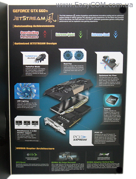 Palit GeForce GTX 660 Ti JetStream box