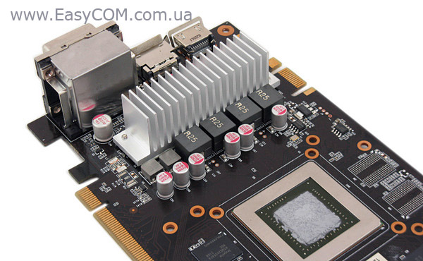 Palit GeForce GTX 660 Ti JetStream cooling