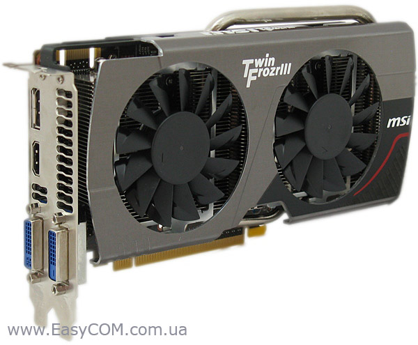 MSI GeForce GTX 660 2 ГБ GDDR5 Twin Frozr III