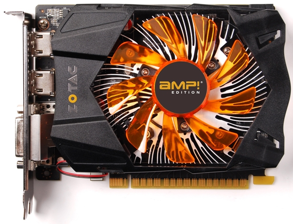 ZOTAC GeForce GTX 650 Ti AMP! Edition