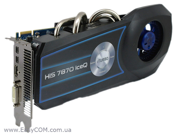 HIS 7870 IceQ 2GB GDDR5 PCI-E DVI/HDMI/2xMini DP (H787Q2G2M)