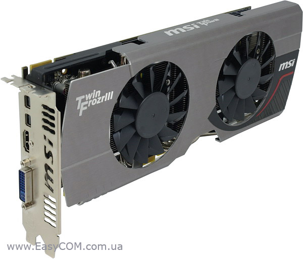 MSI R7870 Twin Frozr 2GD5/OC на AMD Radeon HD 7870