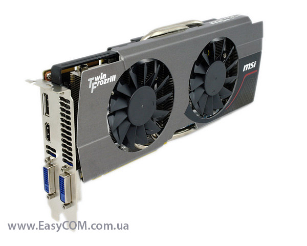 MSI GeForce GTX660 Ti Twin Frozr OC