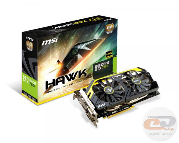 MSI GeForce GTX 760 HAWK