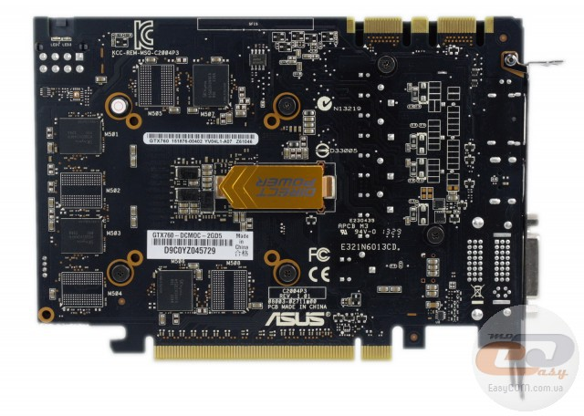 ASUS GeForce GTX 760 DirectCU Mini OC