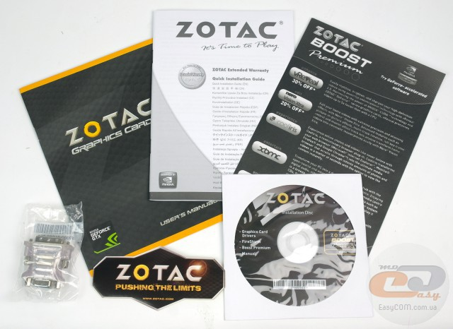 ZOTAC GeForce GTX 750 (ZT-70701-10M)