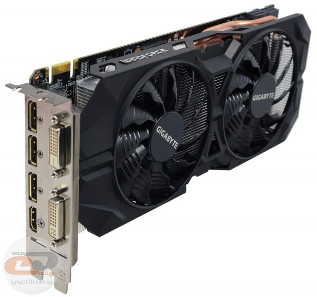 GIGABYTE GeForce GTX 960 WINDFORCE OC (GV-N960WF2OC-2GD)