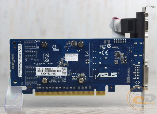 ASUS GeForce 210 (210-SL-TC1GD3-L)