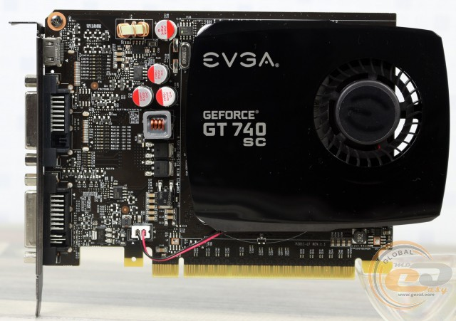 EVGA GeForce GT 740 2GB Superclocked (Single Slot)