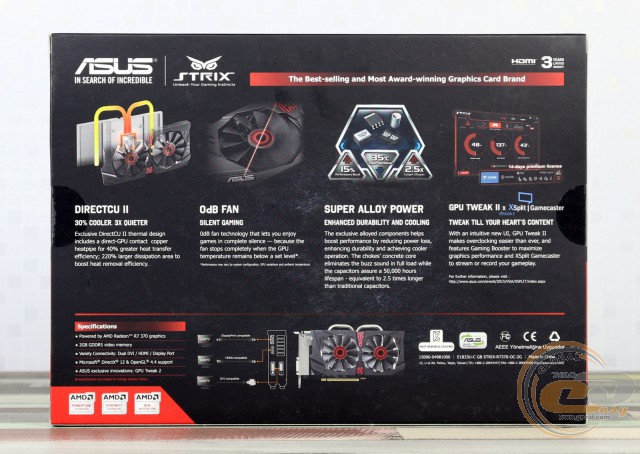 ASUS STRIX R7 370 (STRIX-R7370-DC2OC-2GD5-GAMING)