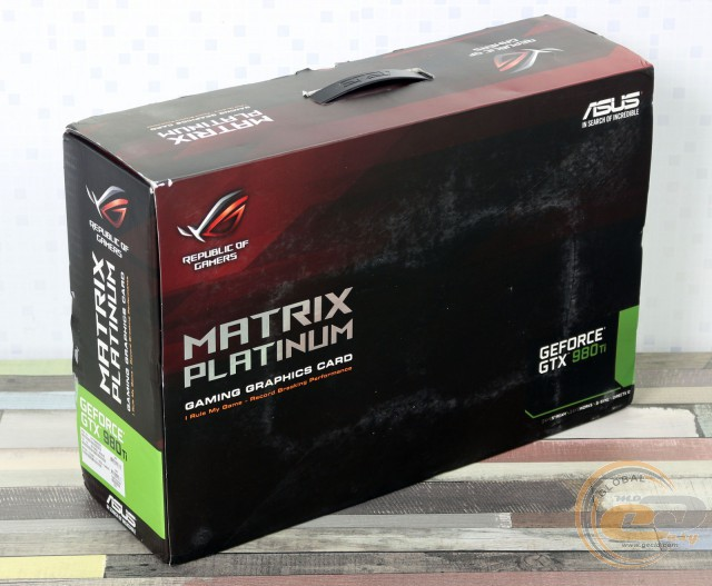 ASUS ROG Matrix Platinum GTX 980 Ti (MATRIX-GTX980TI-P-6GD5-GAMING)