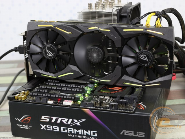 ASUS ROG STRIX GeForce GTX 1080 GAMING OC (ROG STRIX-GTX1080-O8G-GAMING)