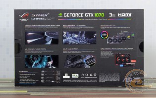 ASUS ROG STRIX GeForce GTX 1070 GAMING (ROG STRIX-GTX1070-8G-GAMING)
