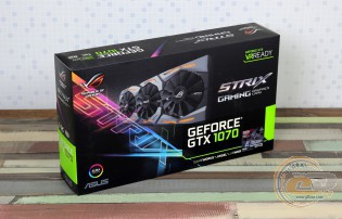 ASUS ROG STRIX GeForce GTX 1070 GAMING OC (ROG STRIX-GTX1070-O8G-GAMING)