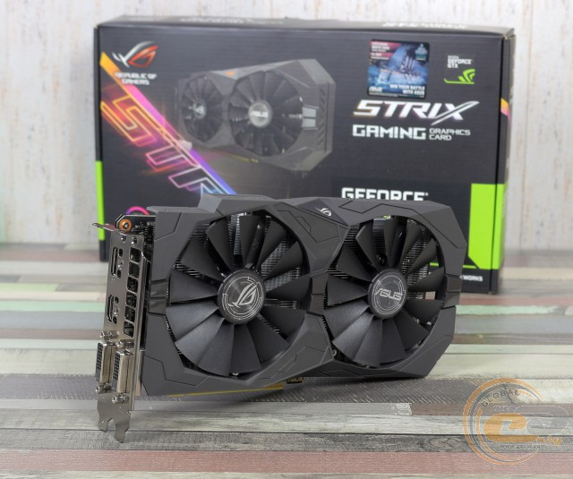 ASUS ROG STRIX GeForce GTX 1050 GAMING OC (ROG STRIX-GTX1050-O2G-GAMING)