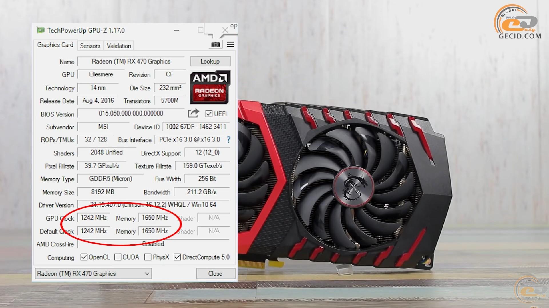 Сравнение Radeon RX 470 8GB vs RX 480 4GB vs RX 480 8GB