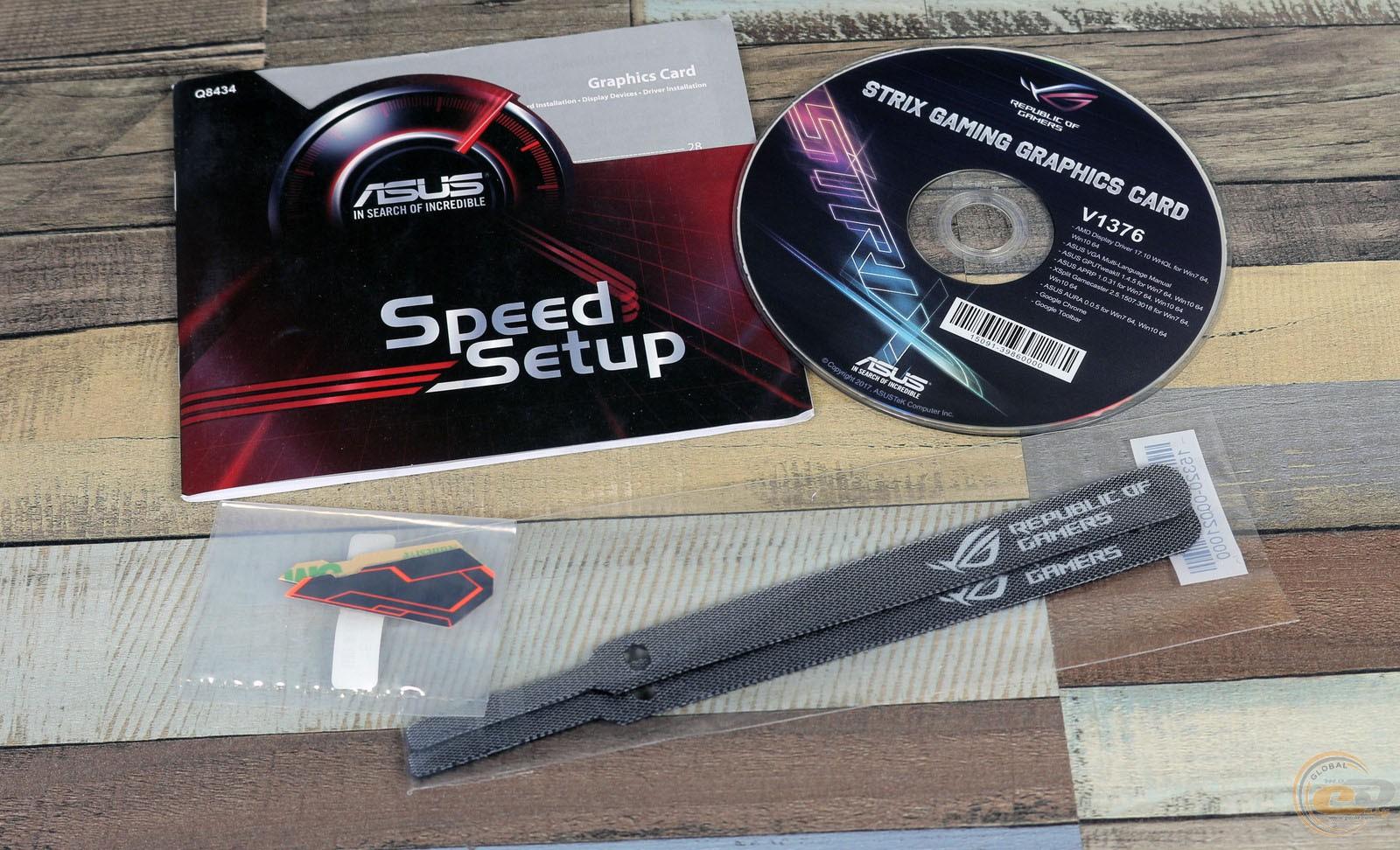 Обзор и тестирование видеокарты ROG STRIX Radeon RX 560