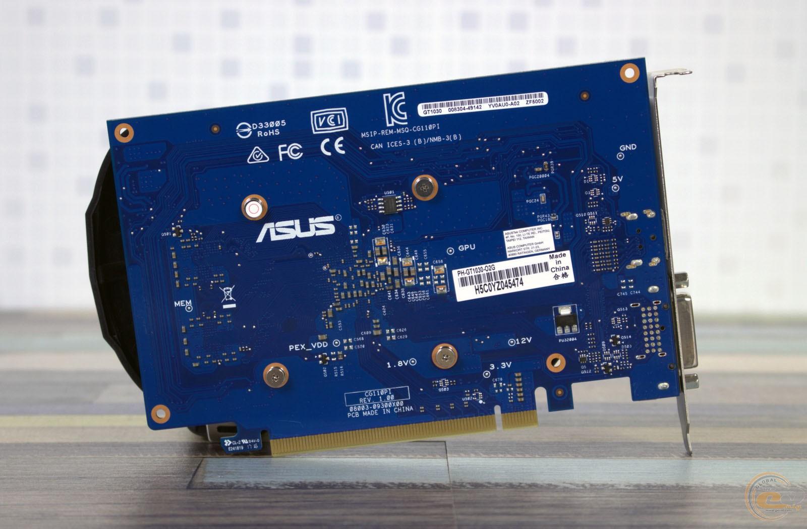 Asus Phoenix Geforce Gt 1030 Oc 2gb Ddr4 Edition Ph Gt1030 O2g