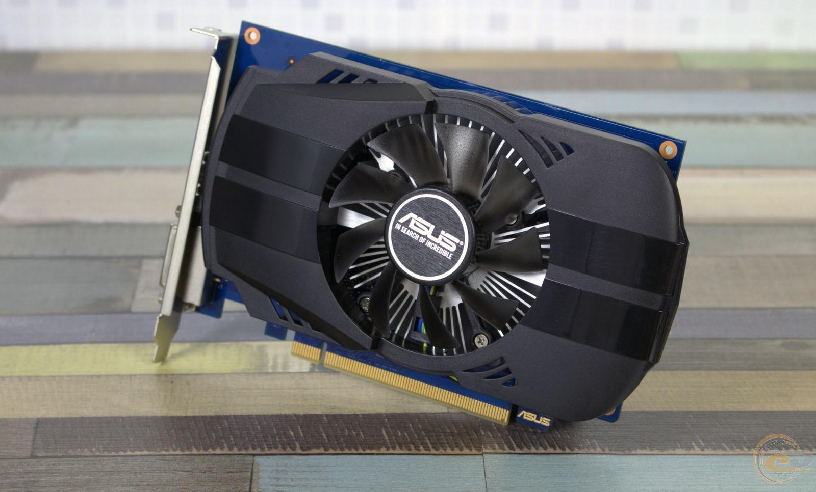 Обзор и тестирование видеокарты ASUS Phoenix GeForce GT 1030 OC ...