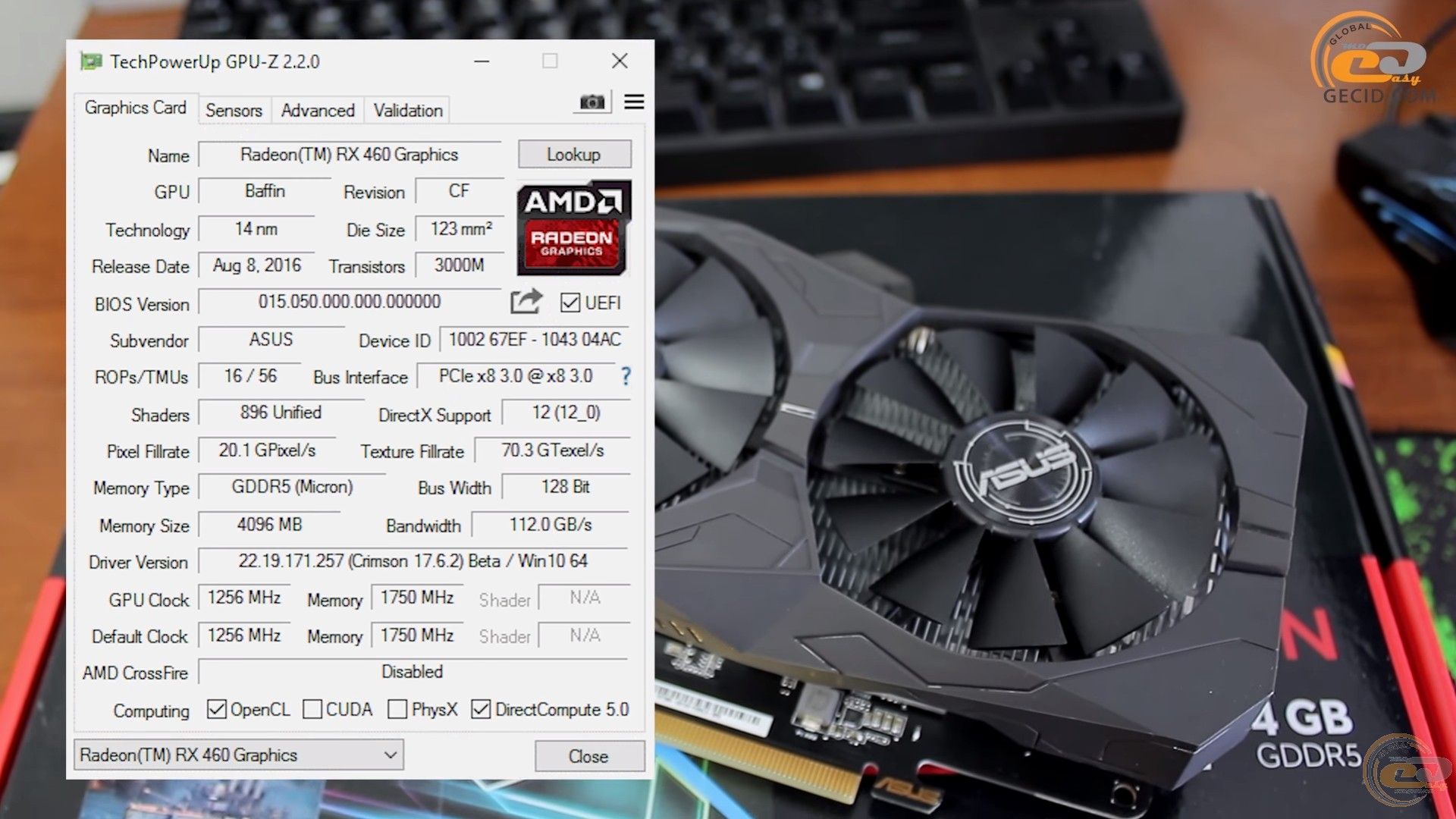 AMD Radeon RX 560 4GB vs GeForce GTX 1050 и Radeon RX 460