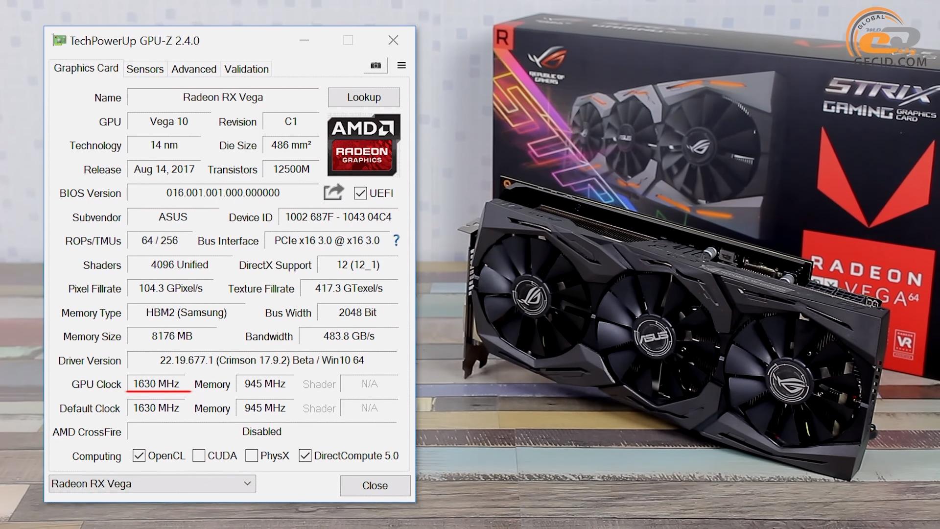 Сравнение видеокарт Radeon RX Vega 64 vs GeForce GTX 1080 в Quad HD