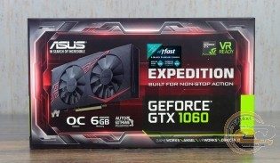 ASUS Expedition GeForce GTX 1060 OC 6GB (EX-GTX1060-O6G)