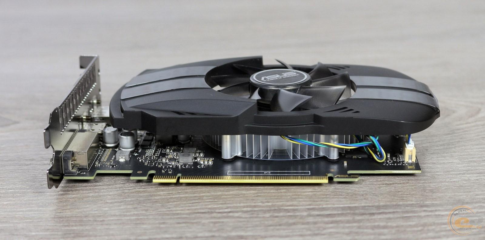 Обзор и тестирование видеокарты ASUS Phoenix GeForce GTX 1050 Ti ...