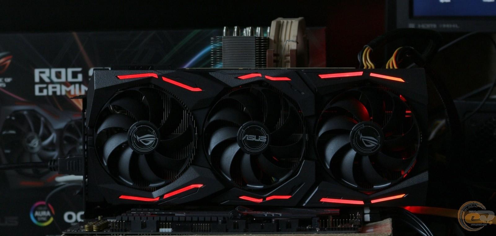 Обзор и тестирование видеокарты ASUS ROG Strix GeForce RTX