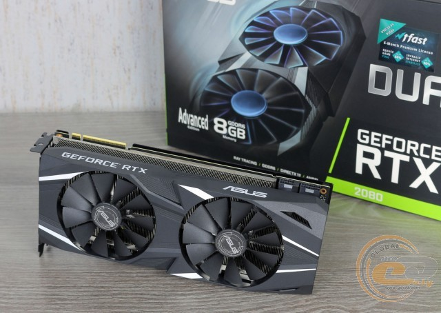 ASUS Dual GeForce RTX 2080 Advanced edition (DUAL-RTX2080-A8G)