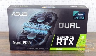 ASUS Dual GeForce RTX 2060 Advanced edition