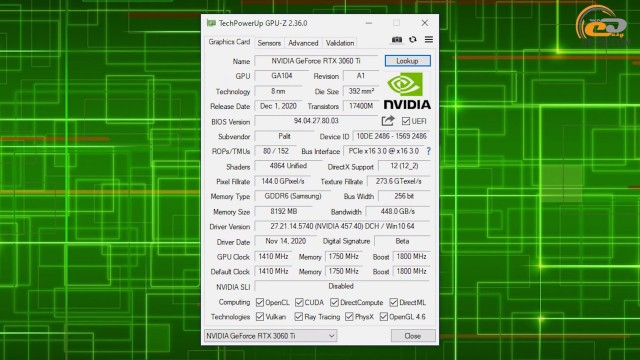 NVIDIA GeForce RTX 3060 Ti